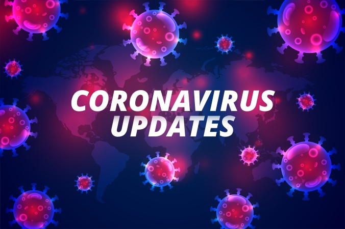 coronavirus updates latest covid-19 pandemic infection backgroun